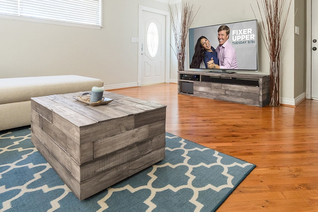 Vinage Barn Board coffee table and TV Stand