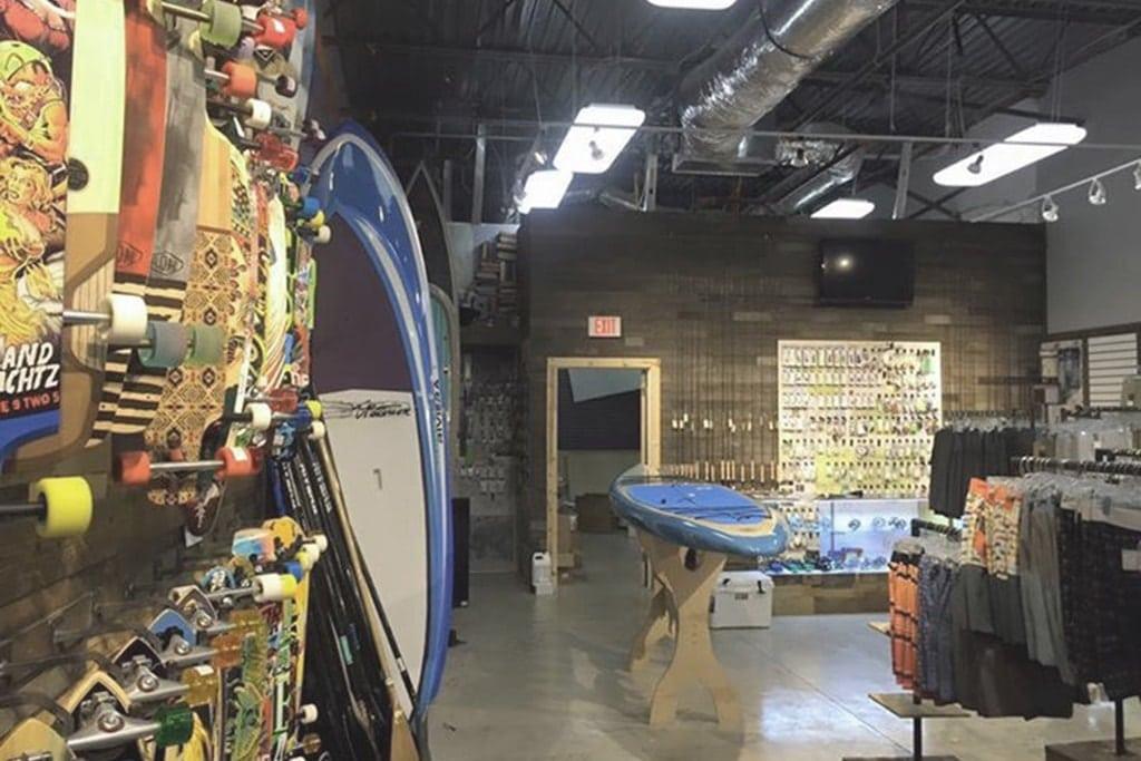 Drva Vintage Barnboard Surf Shop
